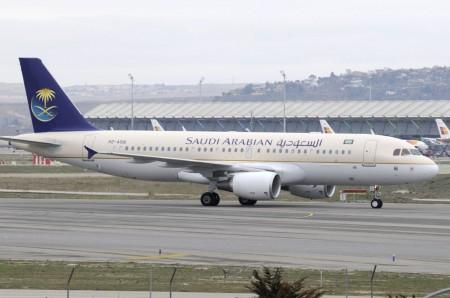 Airbus A320 de Saudia