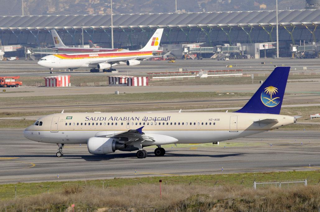 A320 de Saudia