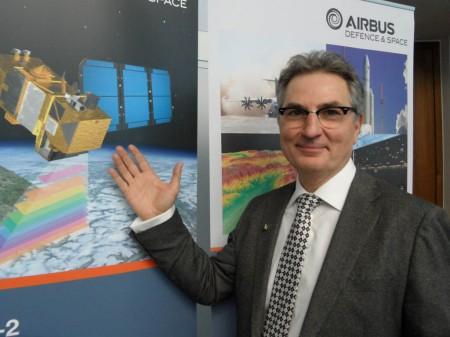 François Spotto, director del Sentinel 2A en la Agencia Espacial Europea.