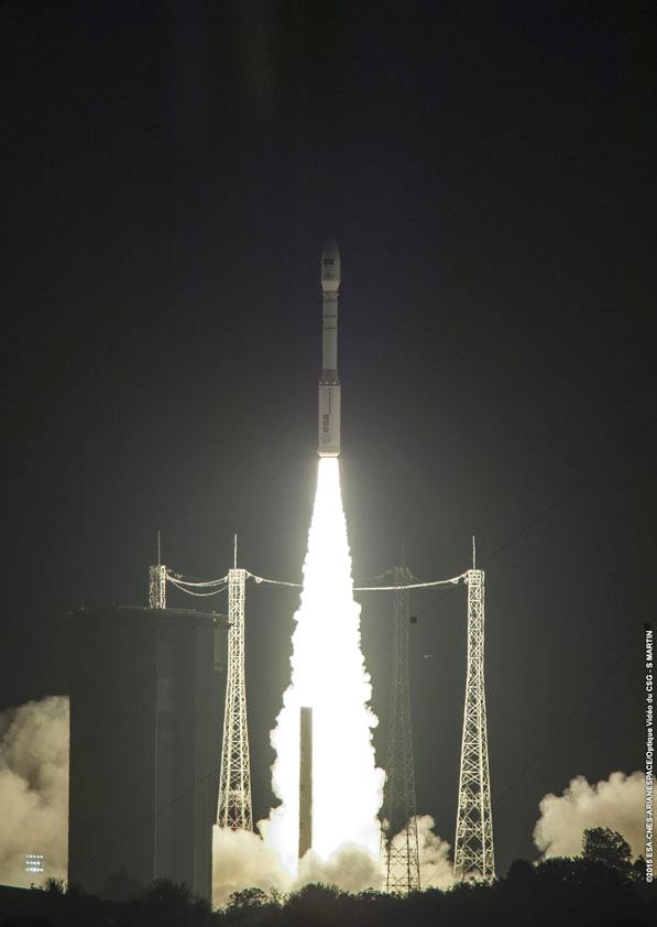 Sentienl 2A ya está en órbita, listo para transmitir imágenes a la Tierra