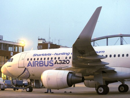 Airbus A320 con sharklets