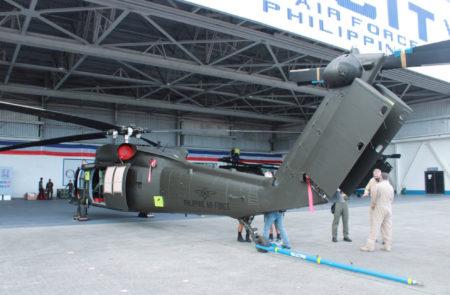 Sikorsky S70i de la Fuerza Aérea de Filipinas