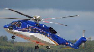 Un Sikorsky S92 de la división offshore de Babcock.