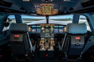 Configuración de A320 del nuevo simulador de Simloc.