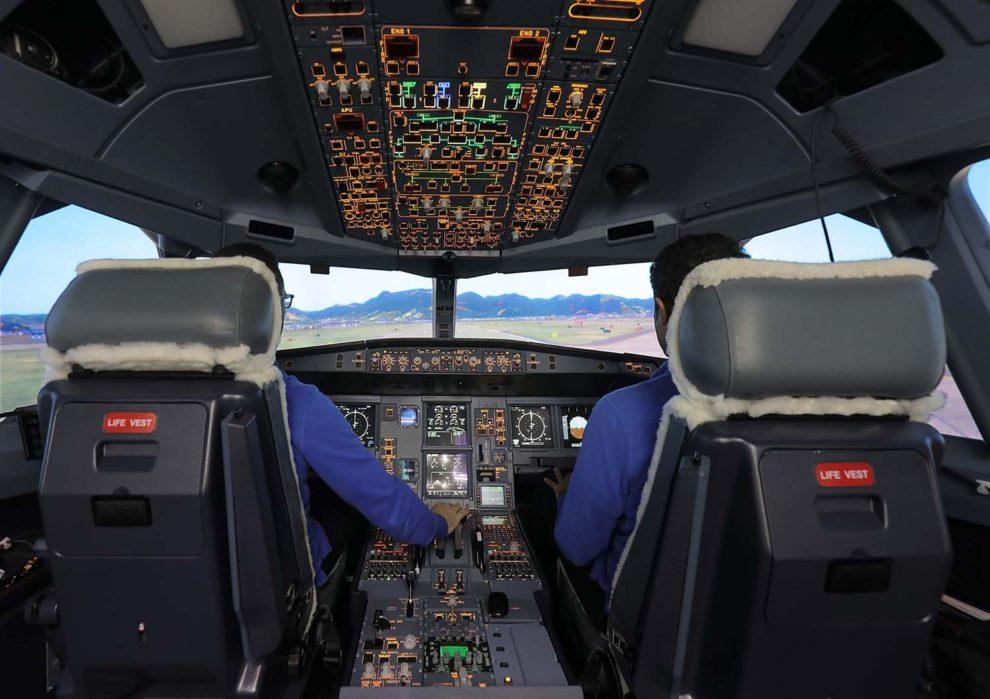 El simulador del A330MRTT está certificado Nivel D, el más alto entre los simuladores.
