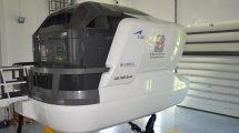 El nuevo simulador de C295 de la Fuerza Aérea polaca.