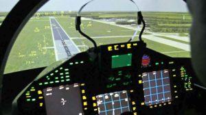 Simulador de Eurofighter.