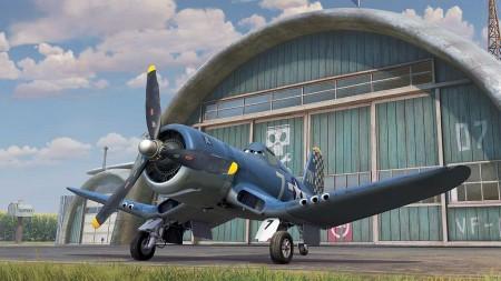 Skipper Realy está basado en un Corsair II de la Segunda Guerra Mundial