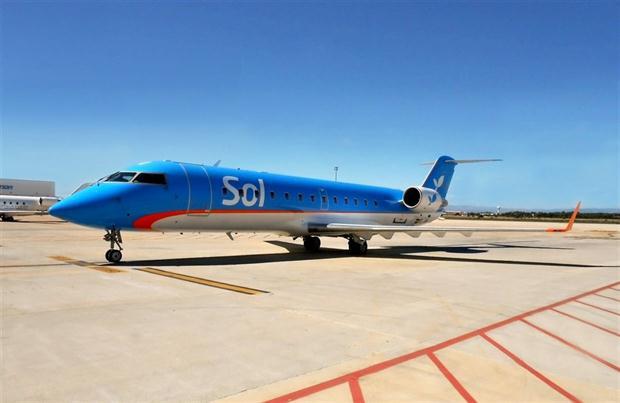 Air Nostrum entró en el accionariado de SOL a cambio de una asesoría técnica para la incorporación de avionss CRJ200 de Air Nostrum en la aerolínea argentina