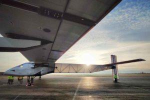 El Solar Impulse en Albacete con Skydweller.
