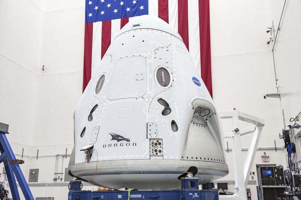 Càpsula Space X Crew Dragon.