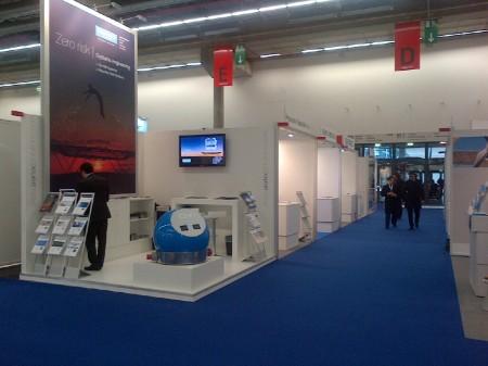 Aertec Solutions presentó en la feria Airtec 2013 sus soluciones más innovadoras para el sector de la aviación civil