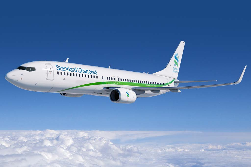 Desde Standard Chartered han señalado que estos B-737-800 se alquilarán principalmente a clientes del noreste de Asia.