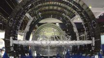 Fuselaje delantero del Airbus A350 producido por Stelia Aerospace.