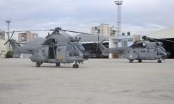 El Ala 48 desfilará con dos de sus helicópteros, uno del SAR y uno del 403 Escuadrón
