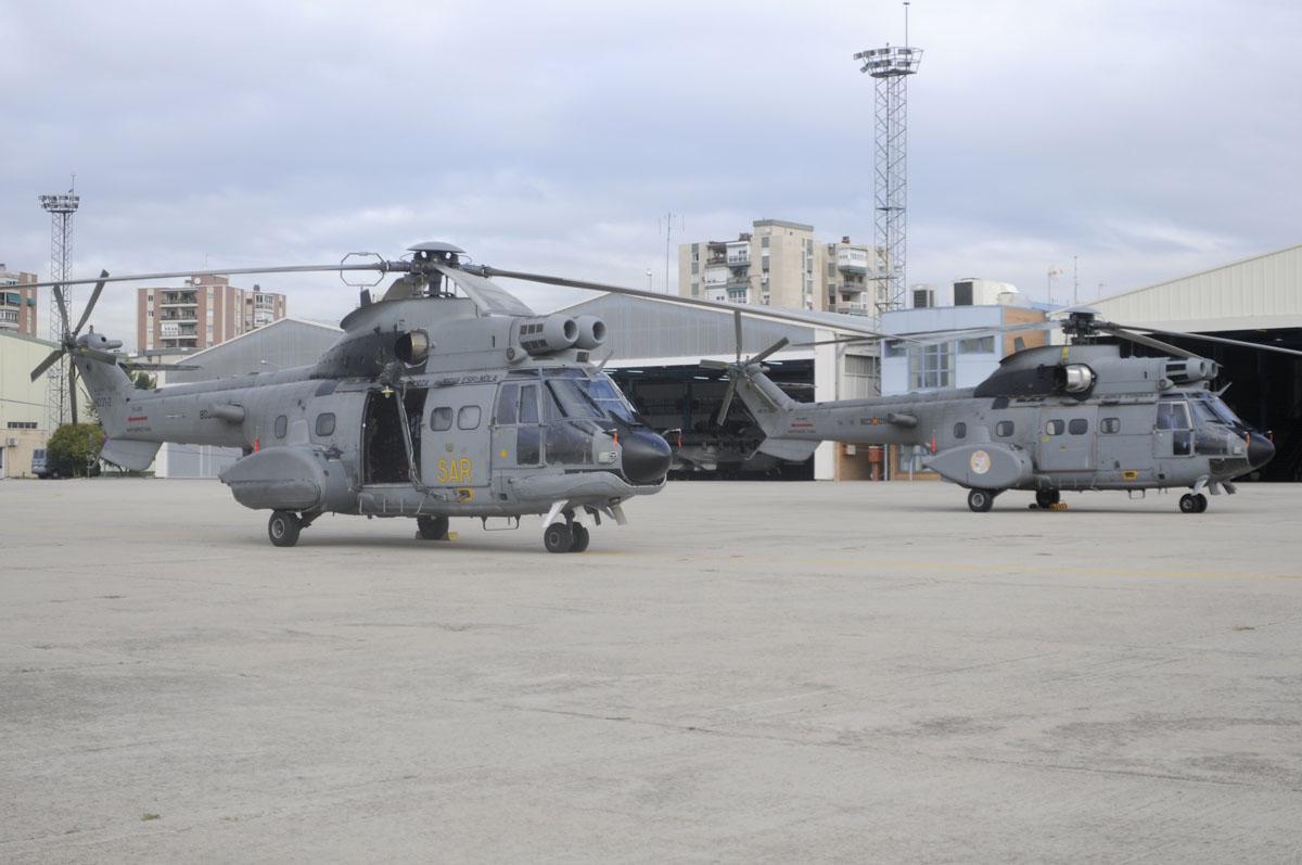 AS332 del 803 Escuadrón
