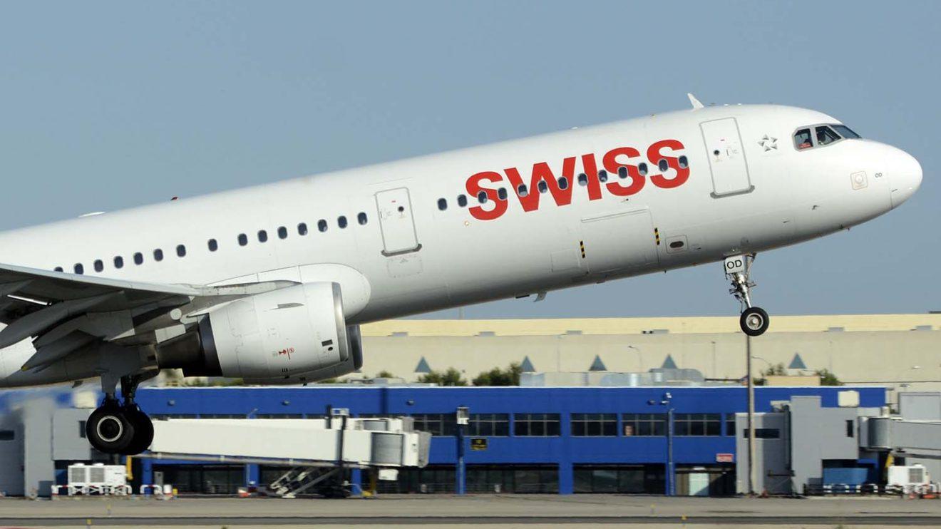 Airbus A321 de Swiss