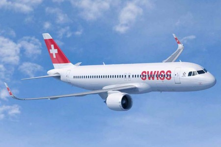 A320 neo de Swiss