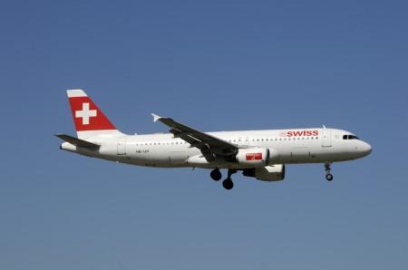 Airbus A320 de Swiss