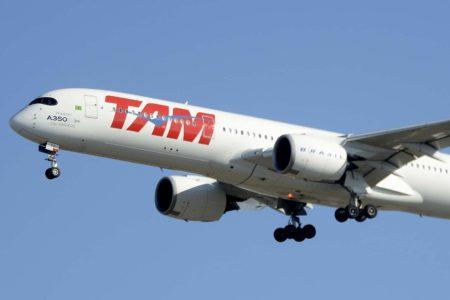 TAM, hoy parte de  LATAM, fue la primera aerolínea de Latinoamérica  en operar el Airbus A350.