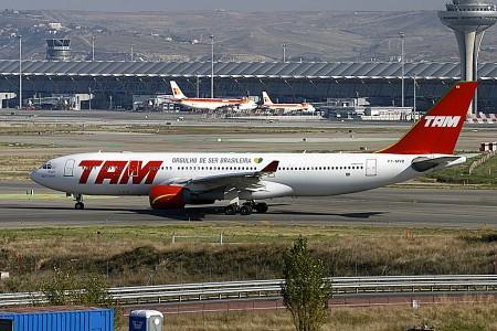 TAM es líder absoluto del mercado de largo radio en Brasil