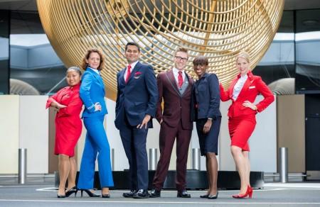 TCP de Air France, KLM, Virgin y Delta en el anuncio del acuerdo económico entre estas aerolíneas.
