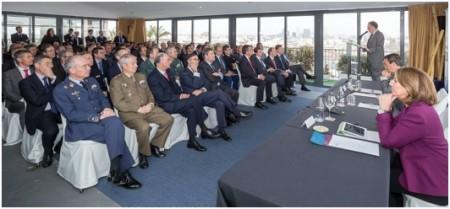 TEDAE reunió a directivos de las empresas de aeronáutica, espacio y defensa