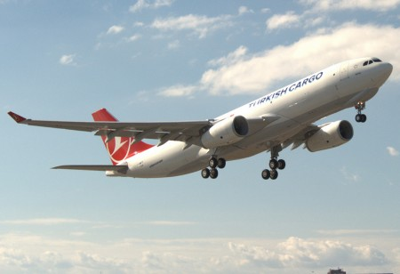 Airbus A330-200 carguero de Turkish Airline