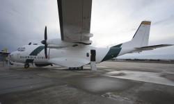 La Guardia Civil no faltó a Aire 75 con uno de sus CN-235 y un EC-135.