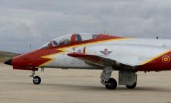 Aguila añadió el logotipo de los 75 años del Ejército del Aire a sus aviones.