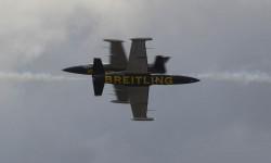 El Breitling Jet Team es la única patrulla civil con reactores.