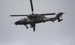 FAMET desplazó varios de sus helicópteros aunque sólo un Tigre participó en los vuelos.