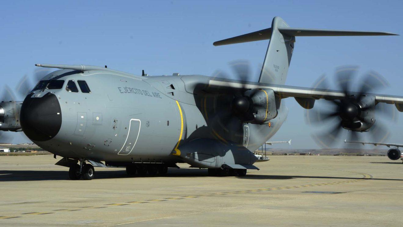 Los tres A400M que ya opera el Ala 31 están demostrando sus capacidades muy superiores a la de los C-130.