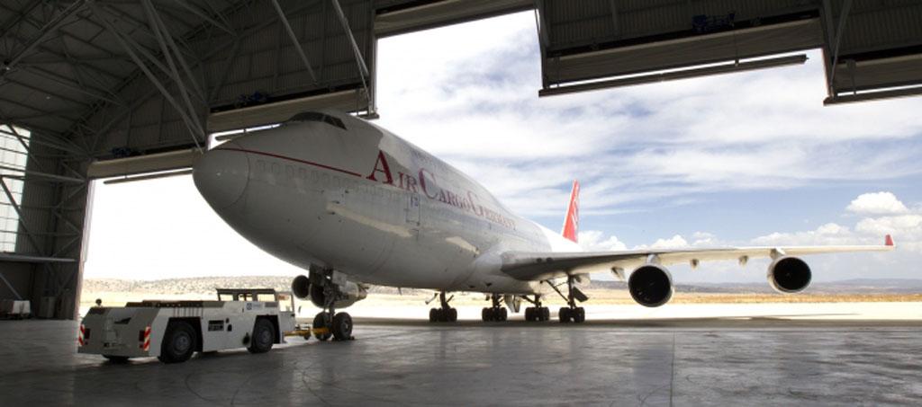 Tarmac Aerosave recibe sus primeros aviones para almacenarse en Teruel.