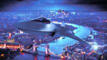 El Tempest es uno de los sies porgramas de sistemas de combafe aéreo en desarrollo en el mundo.