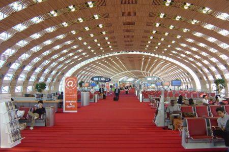 Aeropuerto de Charles de Gaulle, uno de en los que Ryanair pide que Air France renuncie a slots.