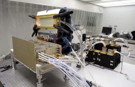 Instrumento óptico del satélite Ingenio.