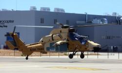 FAMET dispone ya de seis Tigre y un séptimo está en pruebas en Albacete además de este que acaba de hacer su primer vuelo.