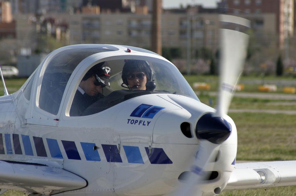 Avión de la escuela Top Fly