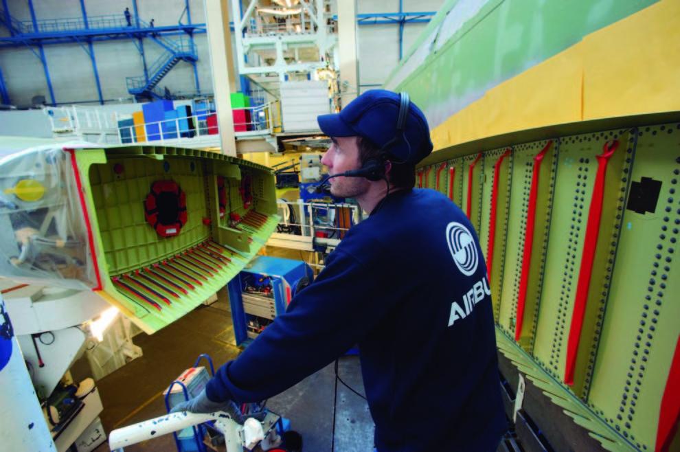 Airbus cuenta con unos 134.000 empelados en todo el mundo.