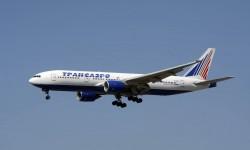 Uno de los nueve Boeing 777-200ER de Transaero.q