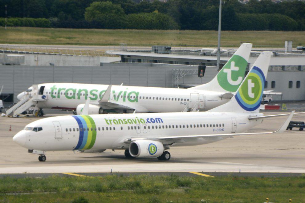 Boeing 737 de Transavia France en el aeropuerto de París Orly.q