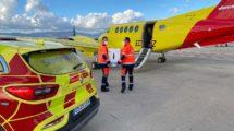 Transporte de las vacunas de COVID-19 por vía aérea dentro de España.