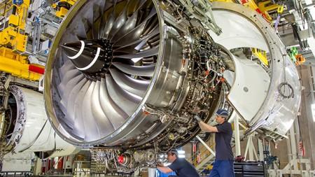 Motor Rolls Royce Trent XWB-97