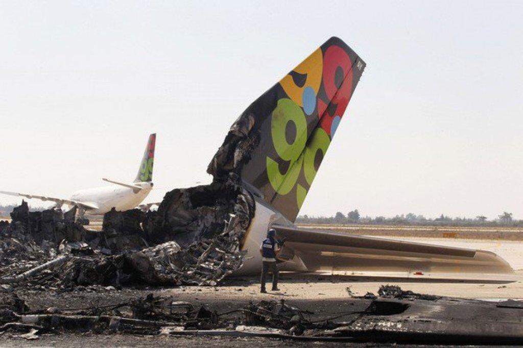 Cola del A300 de Afriquiyah