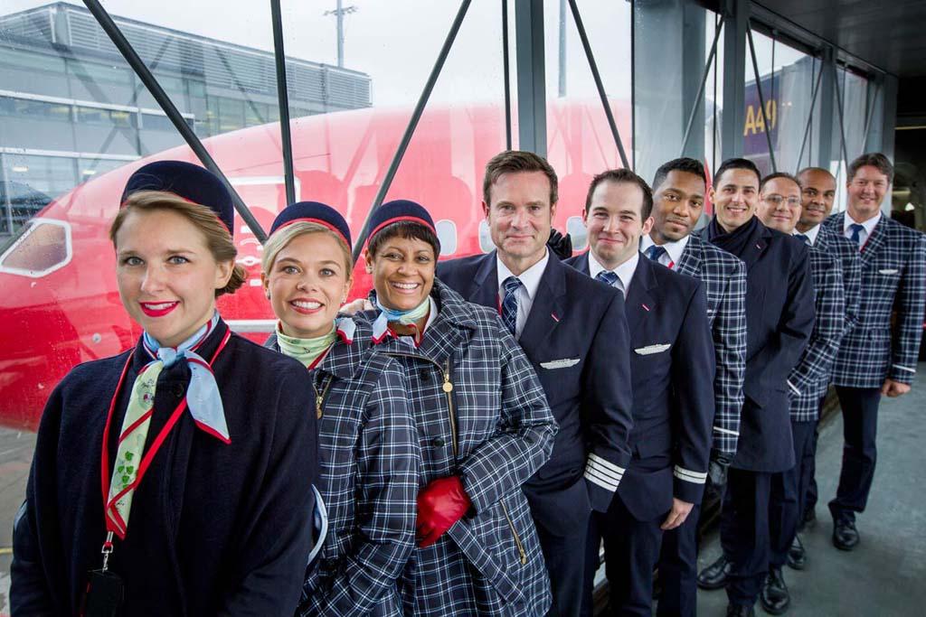 Pilotos y TCP de Norwegian.