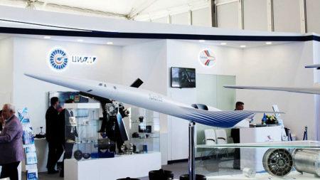 Porpuesta en 2019 del Instituto Central de Aero-Hidro Dinámica para un ejecutivo supersónico.