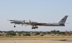 Uno de los últimos Tu142ME Abatross en servicio