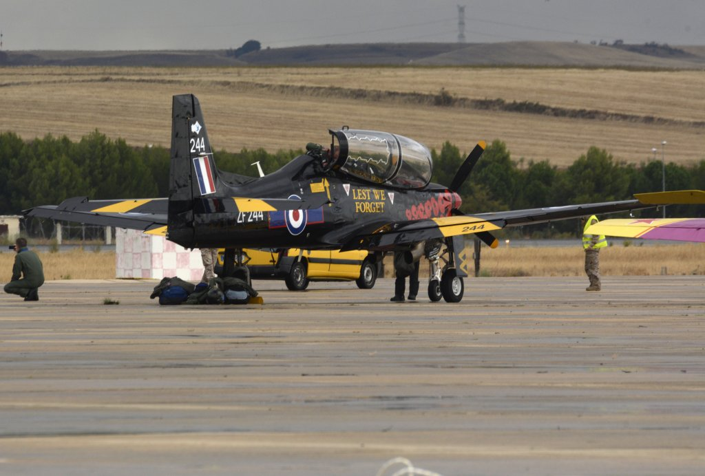 Shorts Tucano de la RAF