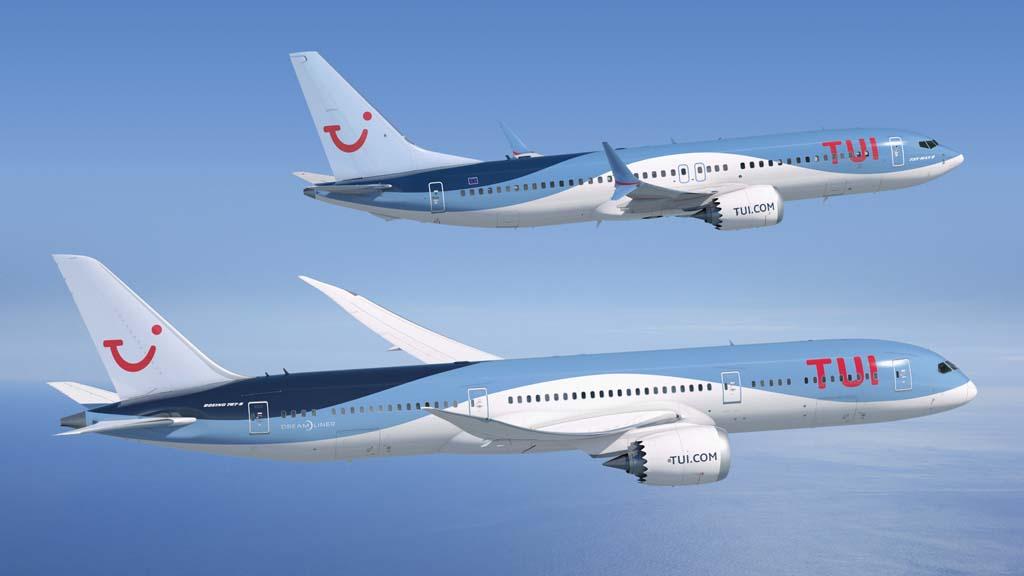 Las seis aerolíneas de Tui cuentan con 136 aviones.